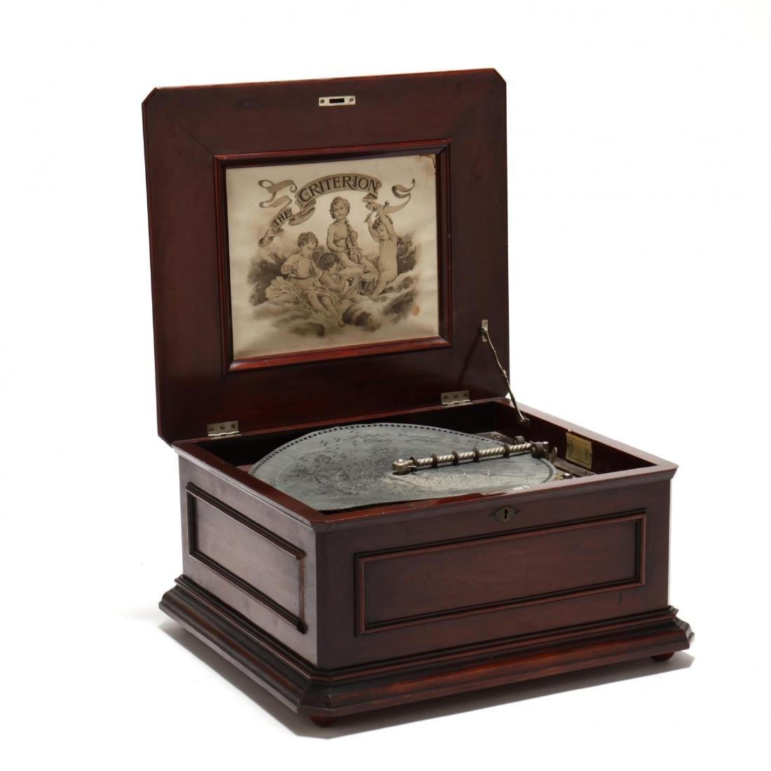 Criterion Double Comb Music Box