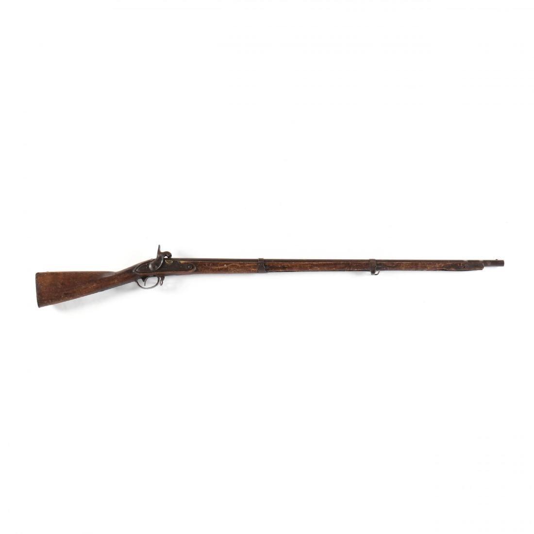 U.S. Model 1816 Flintlock Musket Converted to
