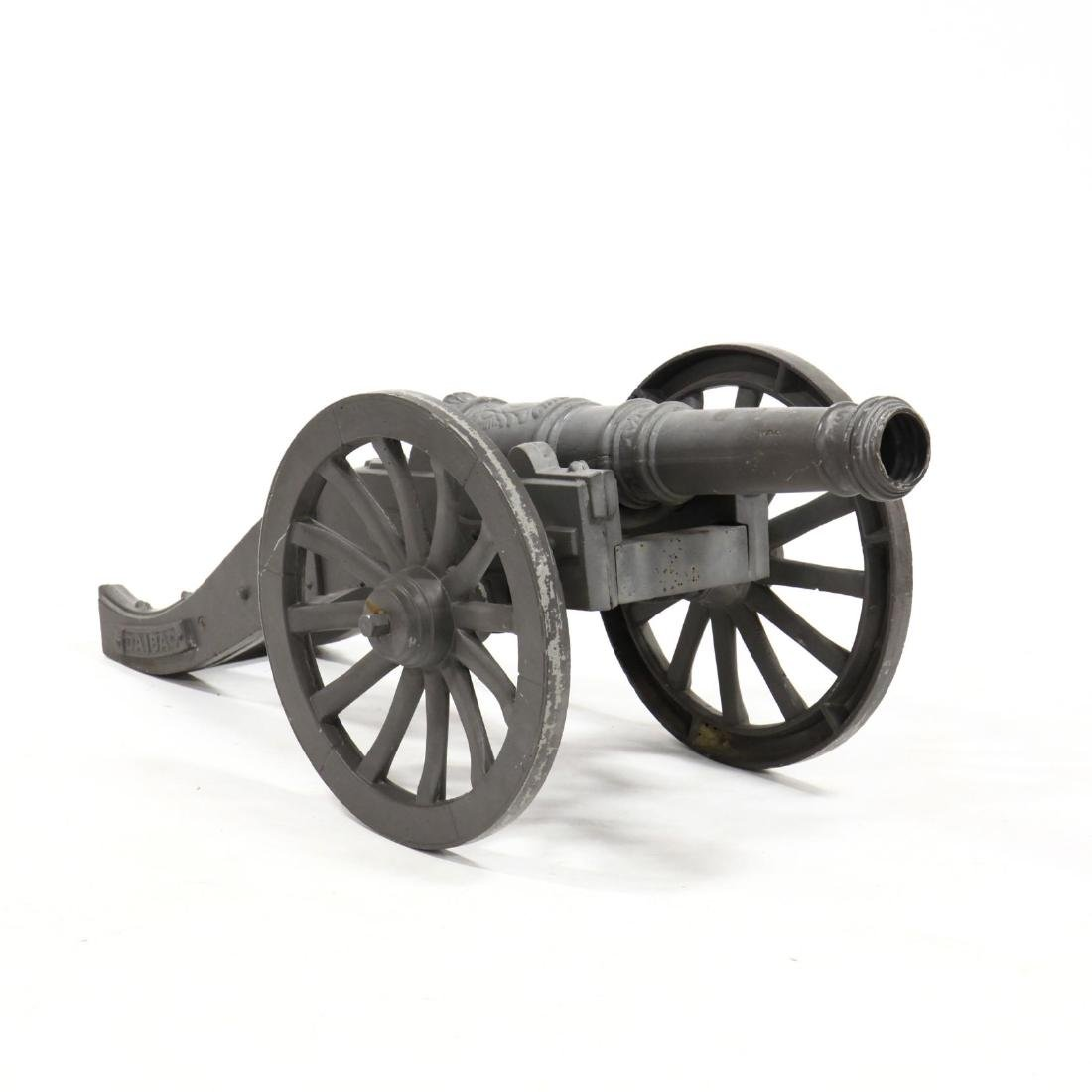 Large Cast Metal Cannon
