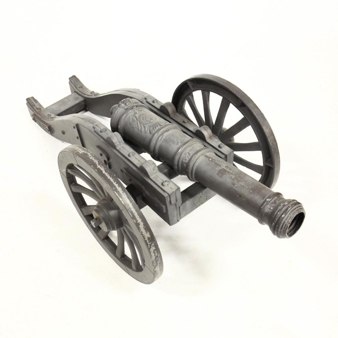 Large Cast Metal Cannon - 2