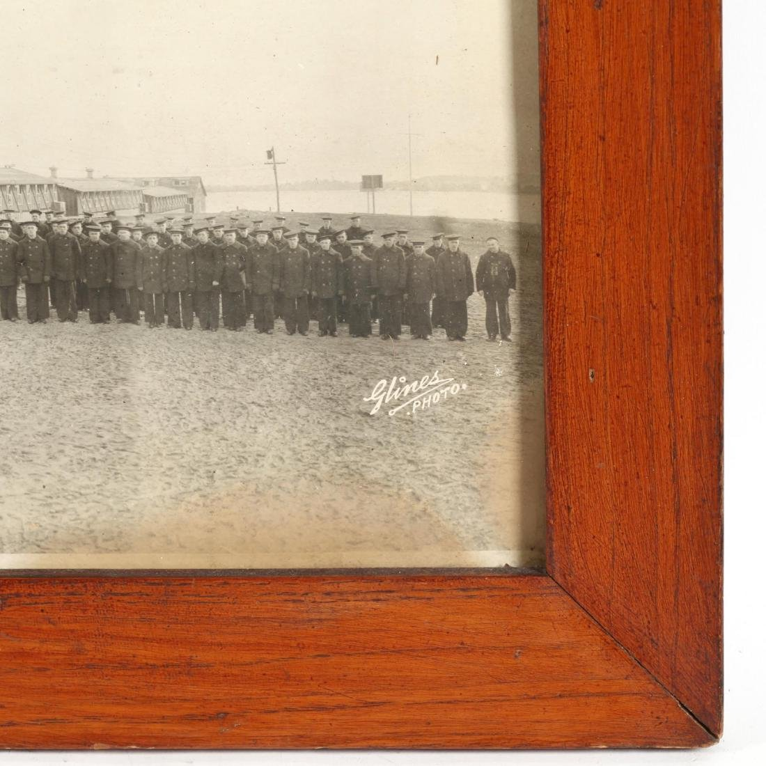Vintage Panoramic Photograph of the US Naval Training - 2