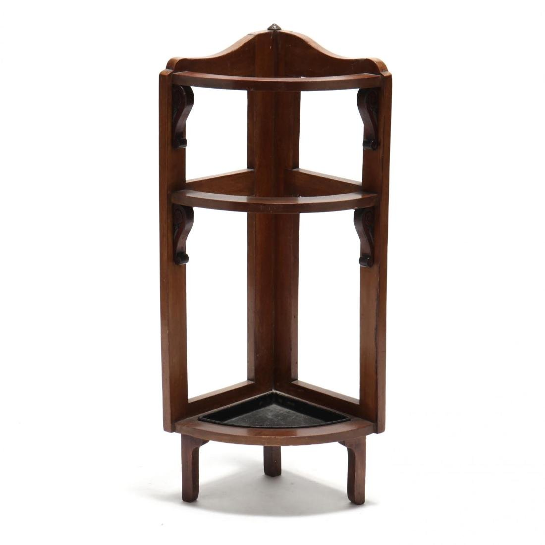 Edwardian Cane Stand With Canes - 3