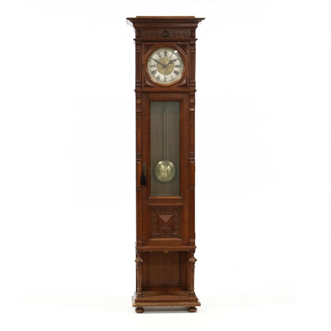 Antique German Tall Case Clock