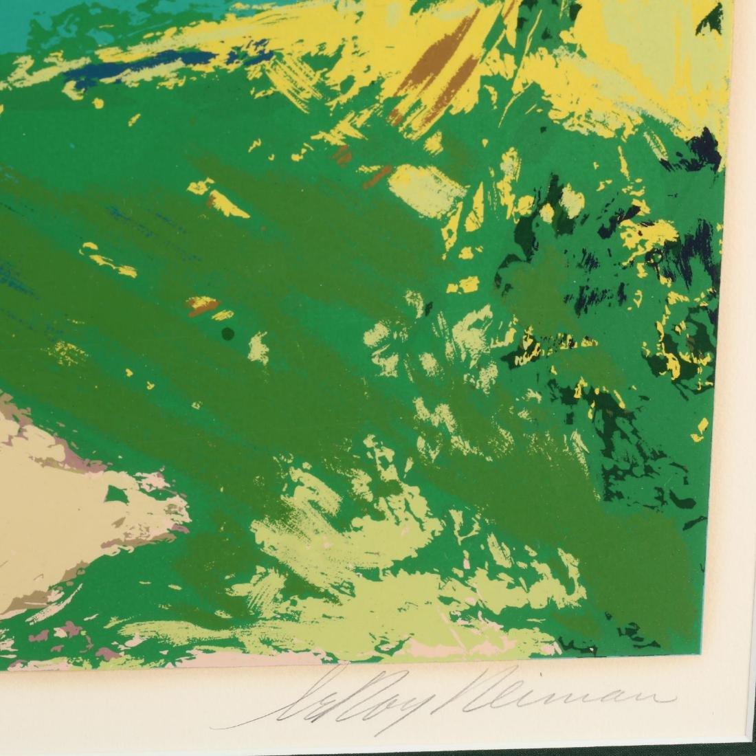 LeRoy Neiman (American, 1921-2012),  Golf Threesome - 2