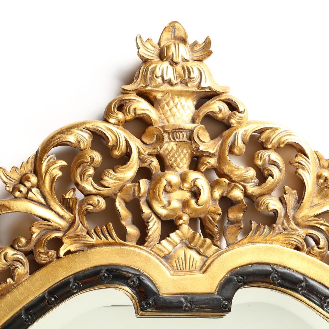 John Richard, Carved and Gilt Looking Glass - 2