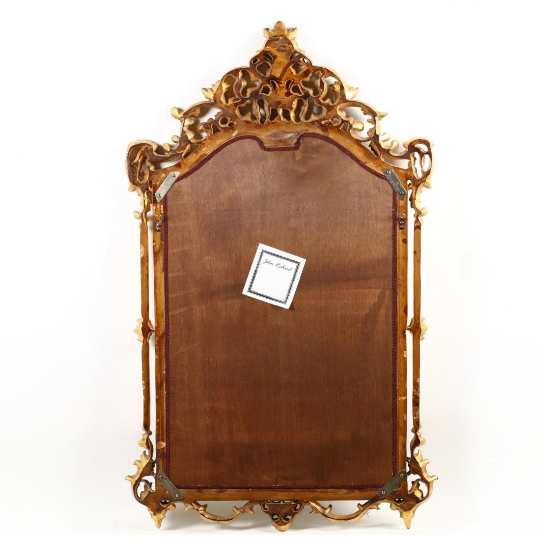 John Richard, Carved and Gilt Looking Glass - 3
