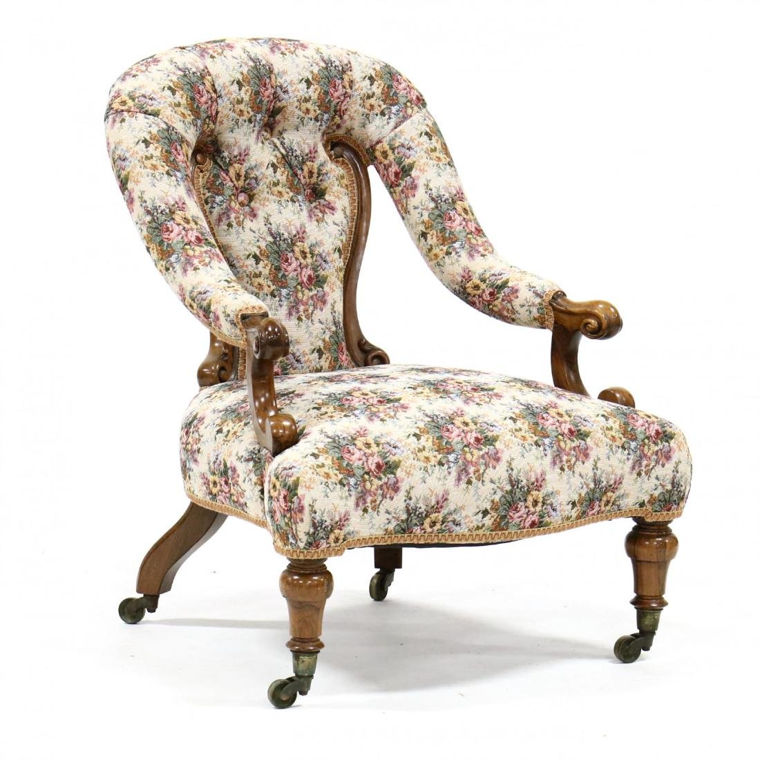 Victorian Rosewood Parlour Chair