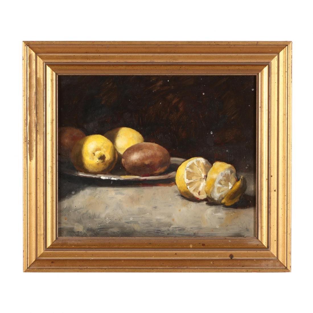 Russ Gordon (MD, b. 1968), Still Life with Lemons and