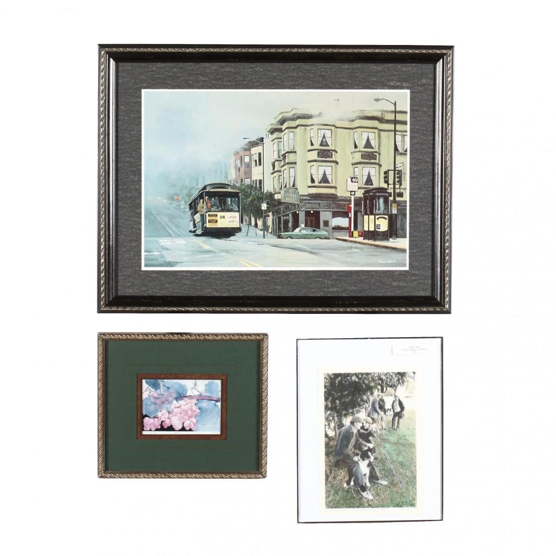 Three Framed Prints