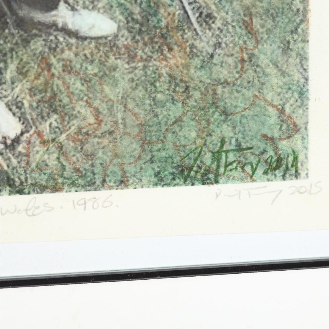 Three Framed Prints - 5