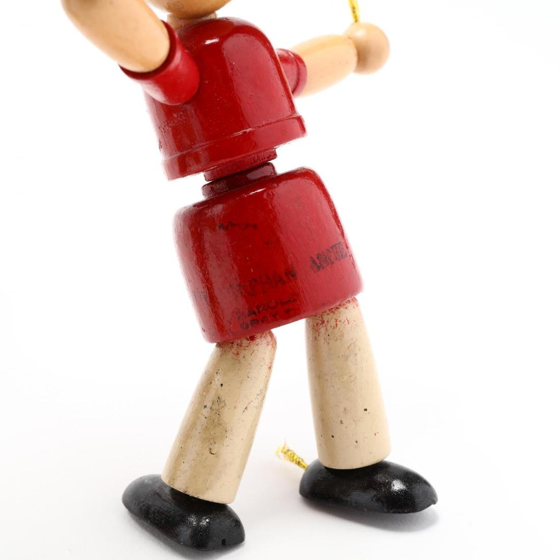 A Group of Articulated Wooden Toys - 8