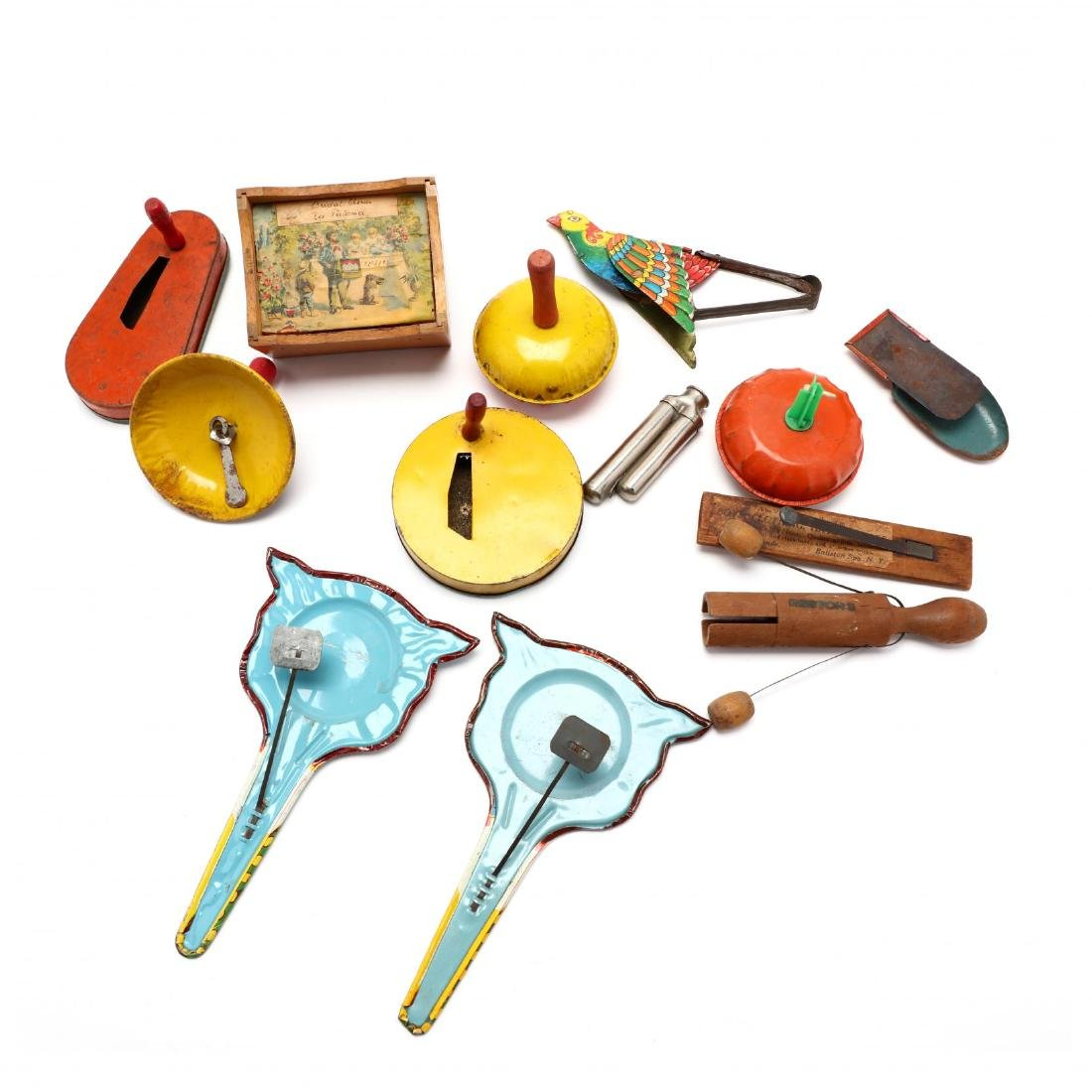 Group of Vintage Noise Makers - 10