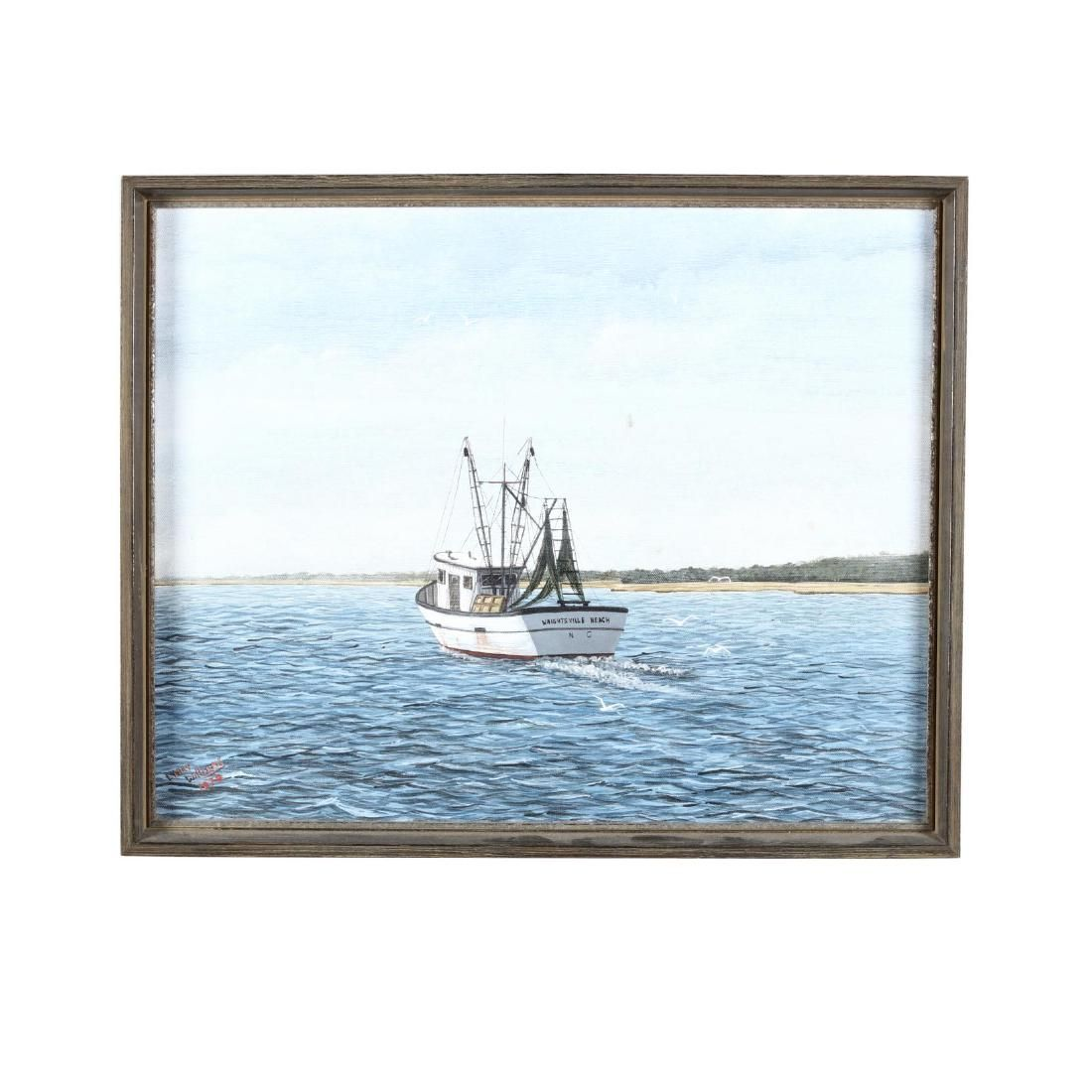 Larry Williams (NC), Fishing Boat, Wrightsville Beach