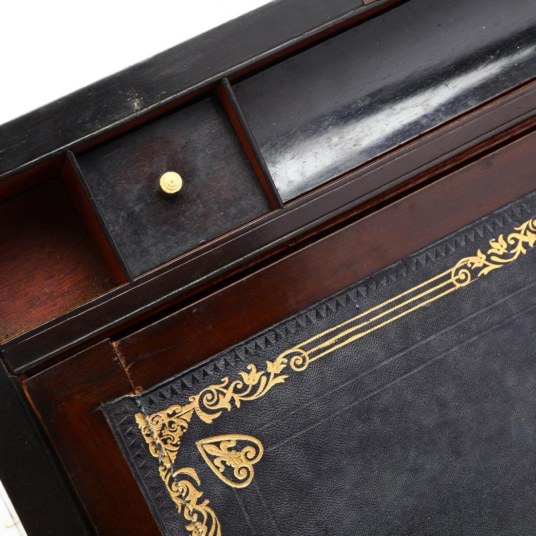 Georgian Style Campaign Lap Desk - 4