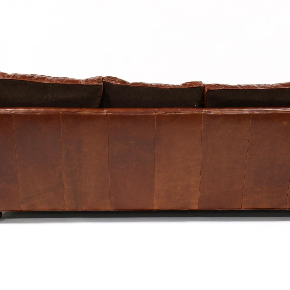 Old Hickory Tannery, Leather Sofa - 5