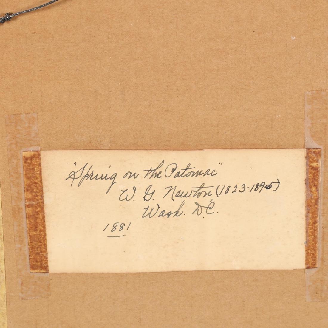 William Giles Newton (D.C./OH, 1825-1895),  Spring on - 3