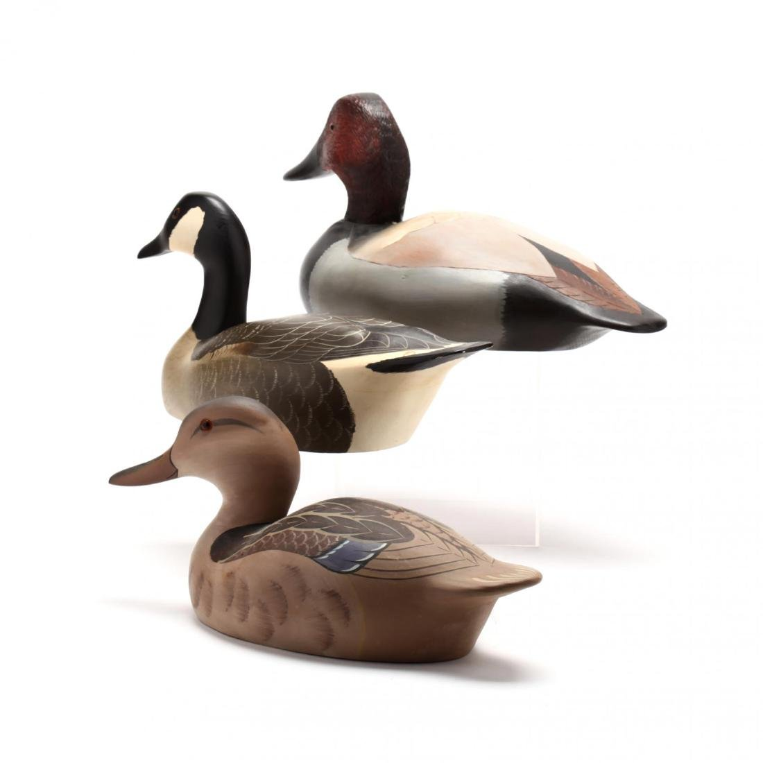 Three Signed Decoys - 2