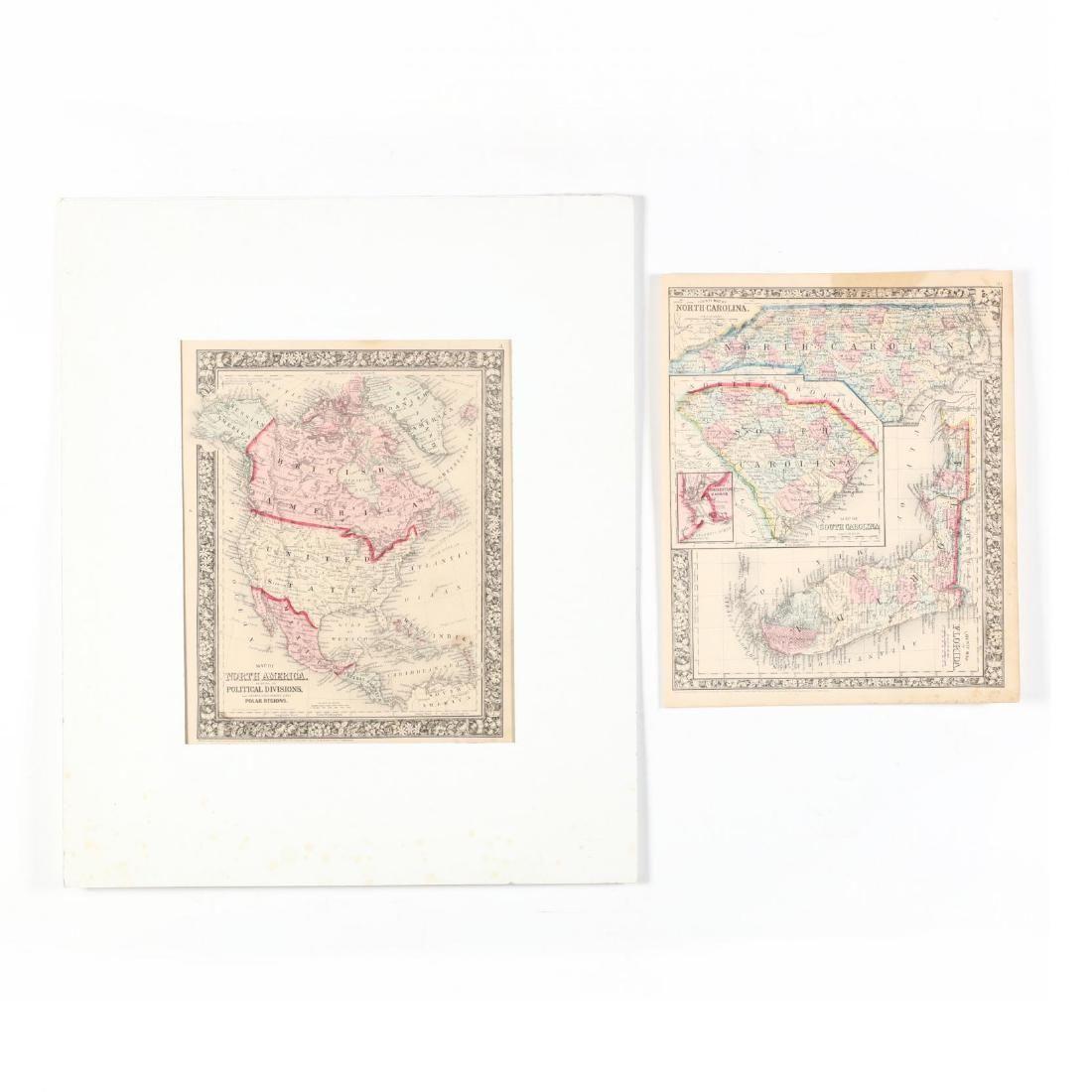 Two Civil War Era Mitchell Maps