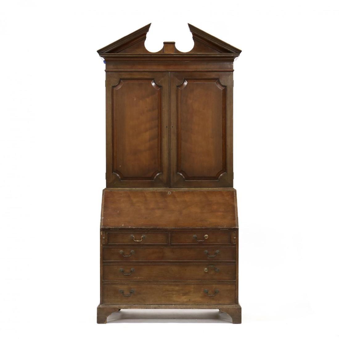 Chippendale Style Secretary Bookcase