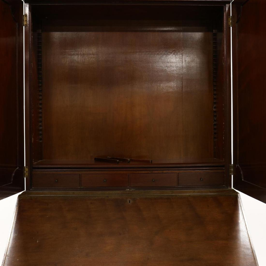 Chippendale Style Secretary Bookcase - 3