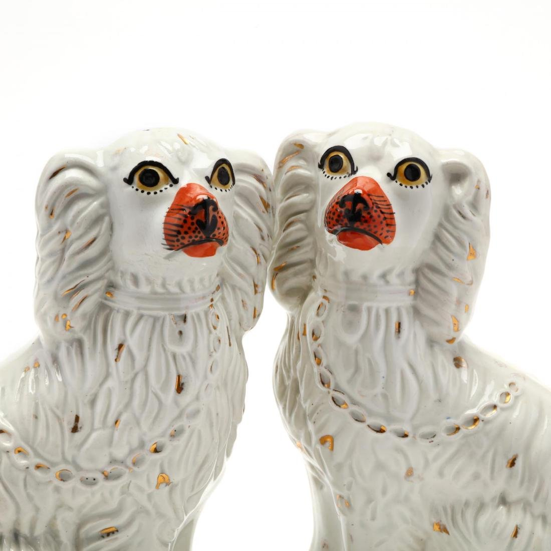 Pair of Staffordshire Spaniels - 3