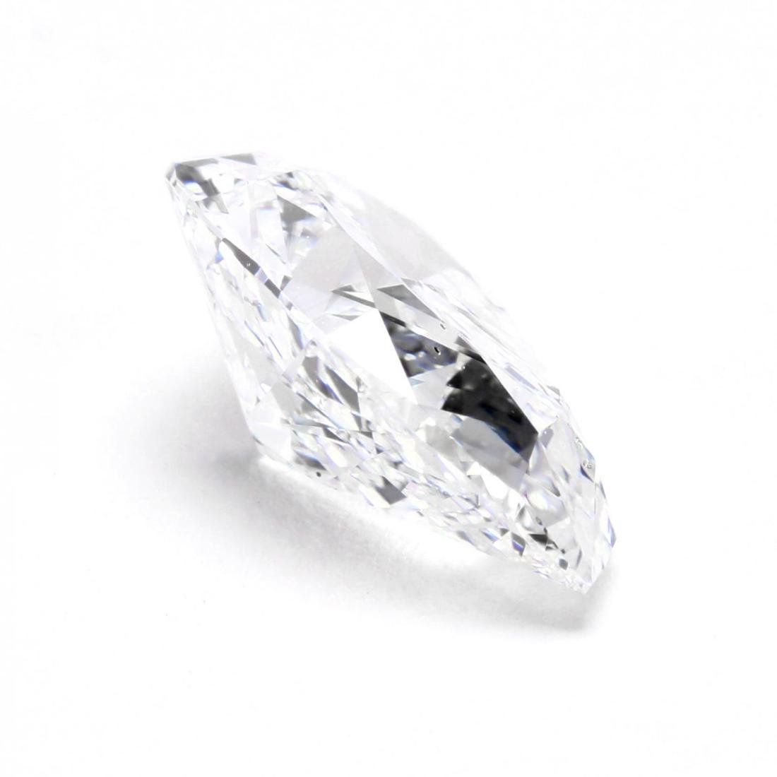 Unmounted Diamond with Platinum and Diamond Mount - 7