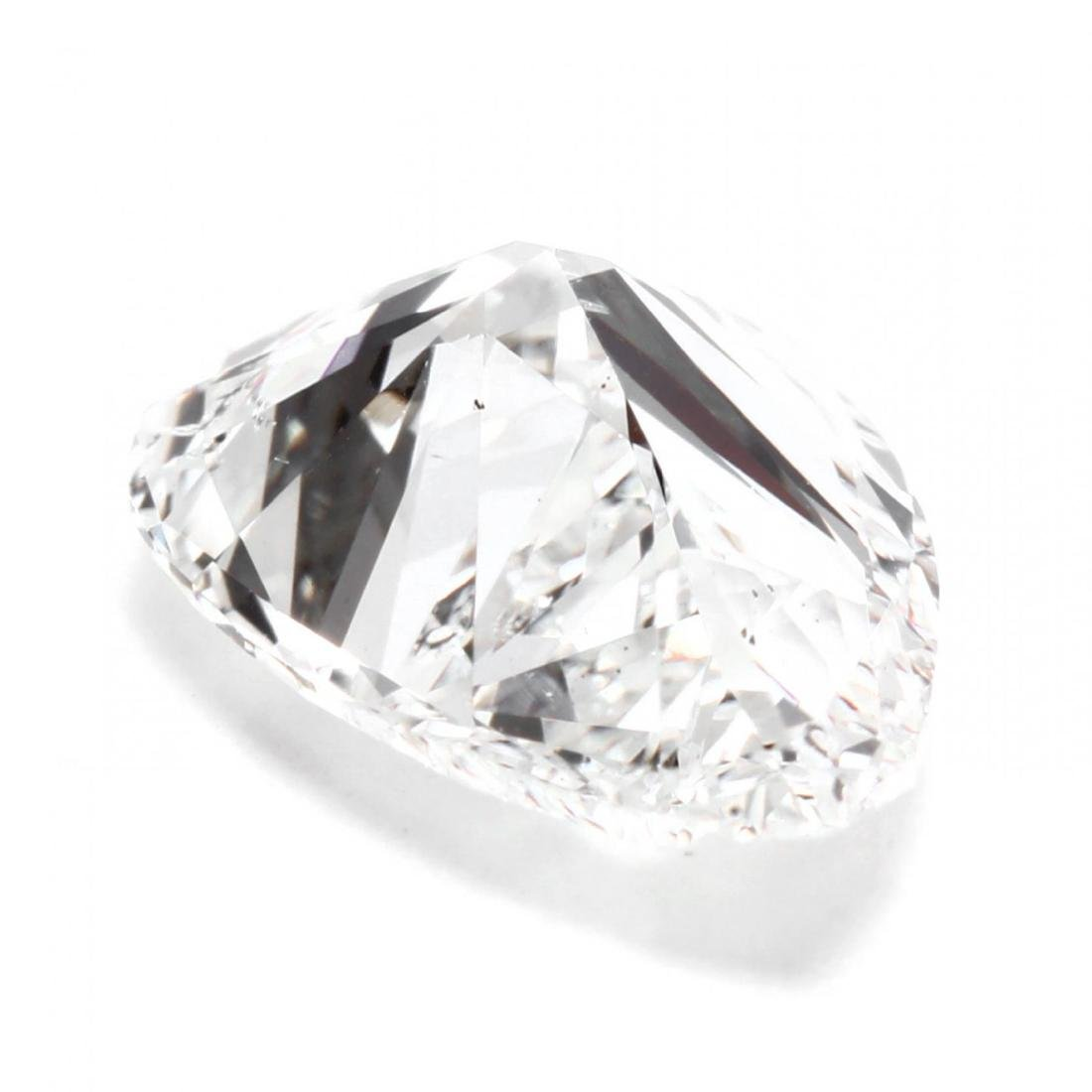 Unmounted Diamond with Platinum and Diamond Mount - 8