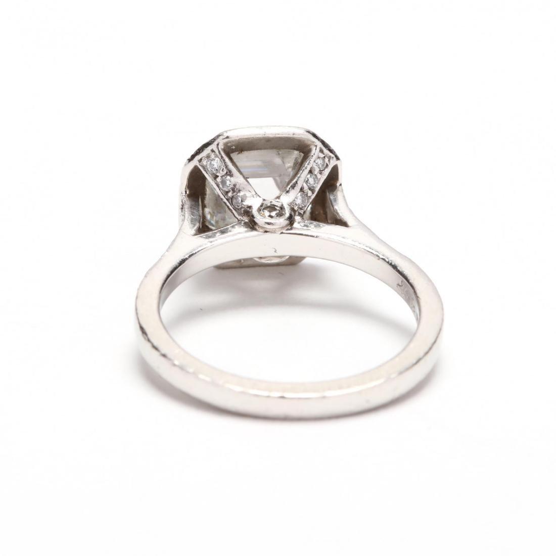 Platinum and Diamond Ring - 3