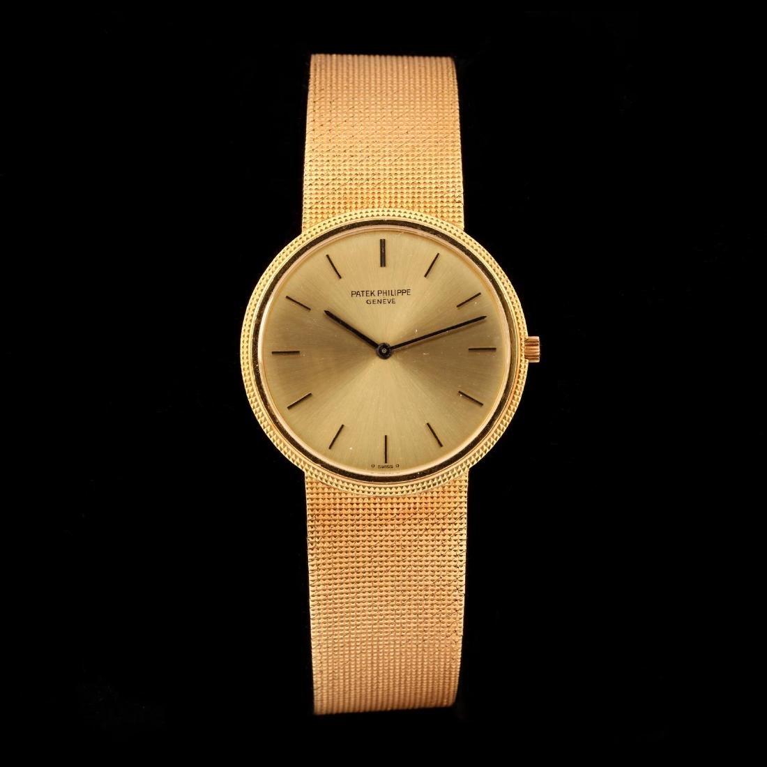 "Gent's 18KT Gold ""Calatrava"" Watch, Patek Philippe"