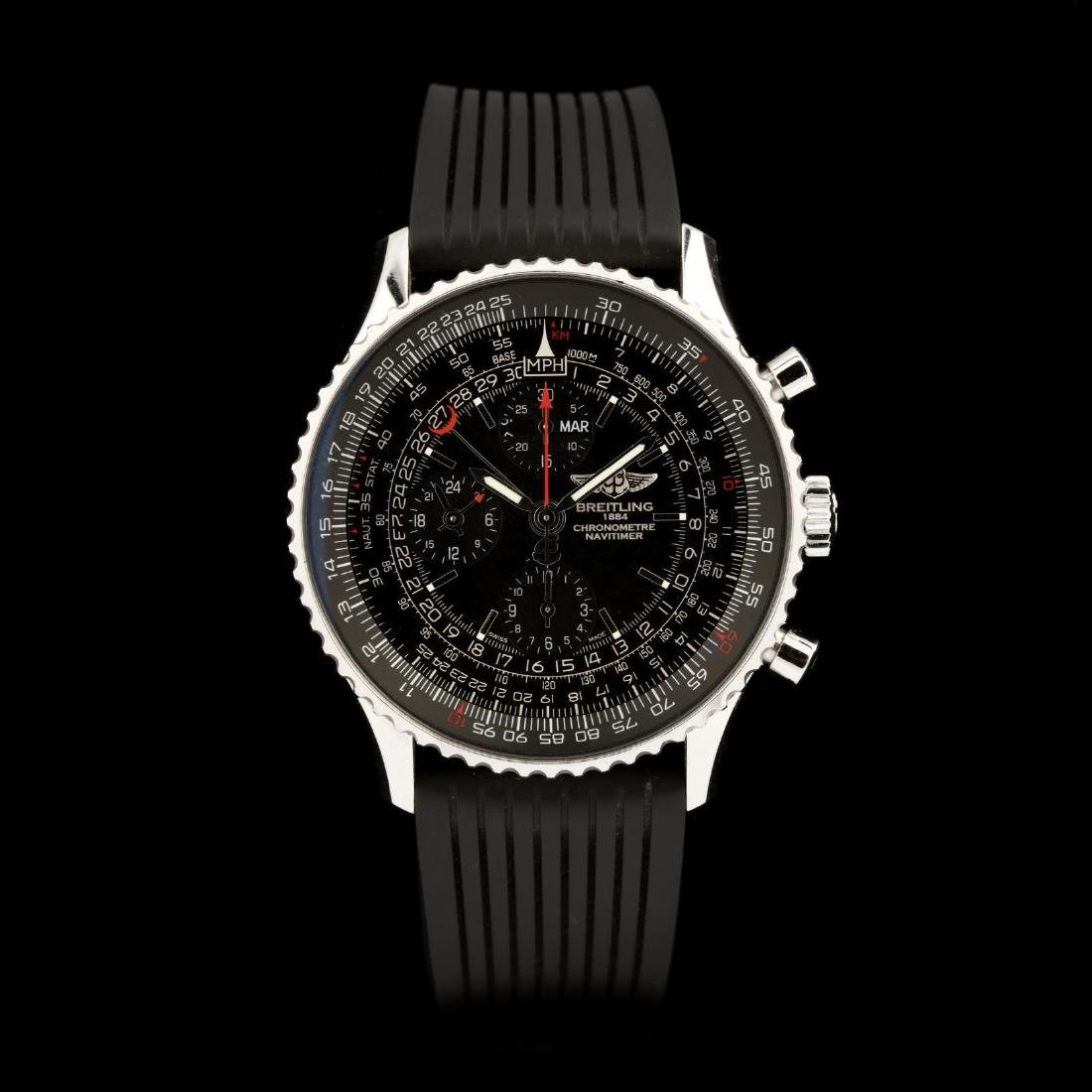 "Gent's ""Navitimer 1884 Limited Edition"" Watch,"