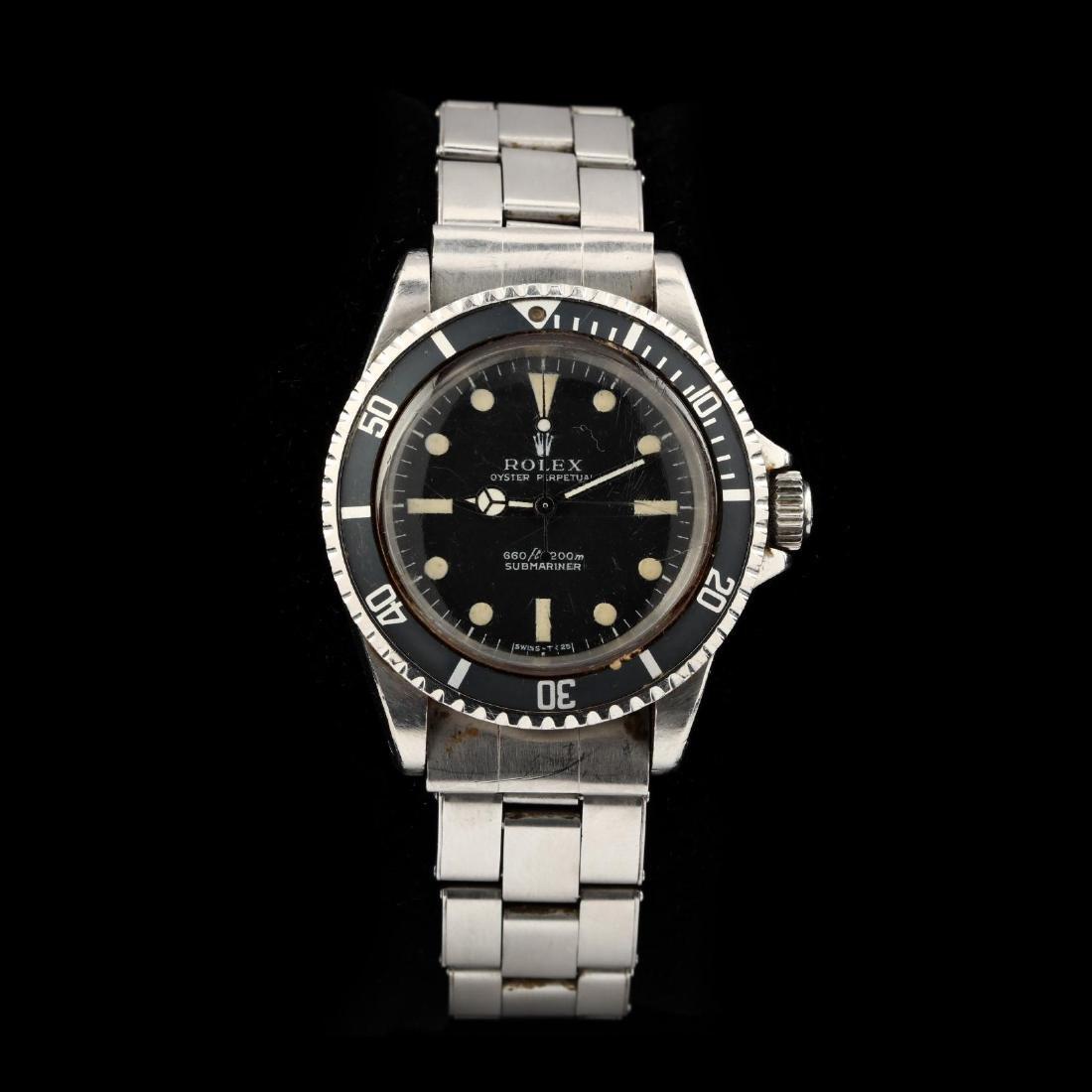 """Gent's Stainless Steel """"Submariner"""" Watch, Rolex"""