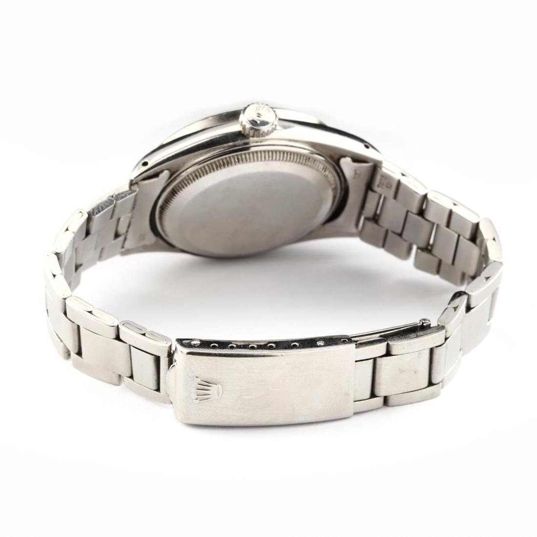 """Vintage Stainless Steel """"Oyster Perpetual Date"""" Watch, - 2"""