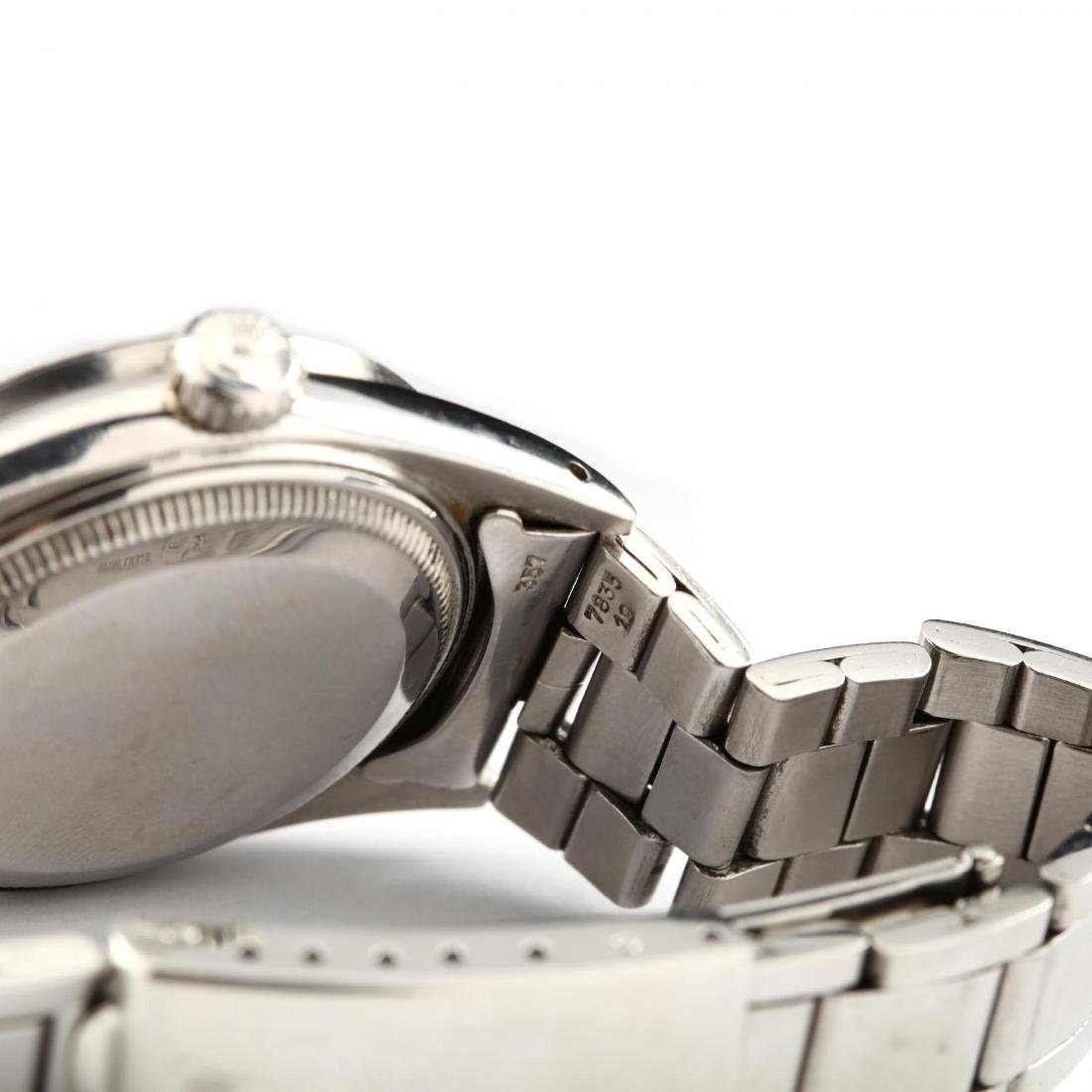 """Vintage Stainless Steel """"Oyster Perpetual Date"""" Watch, - 4"""