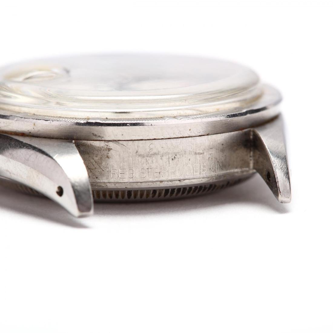 """Vintage Stainless Steel """"Oyster Perpetual Date"""" Watch, - 5"""