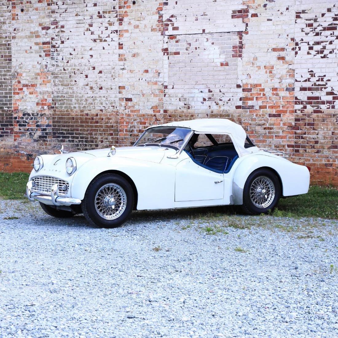 1960 Triumph TR3A - 2