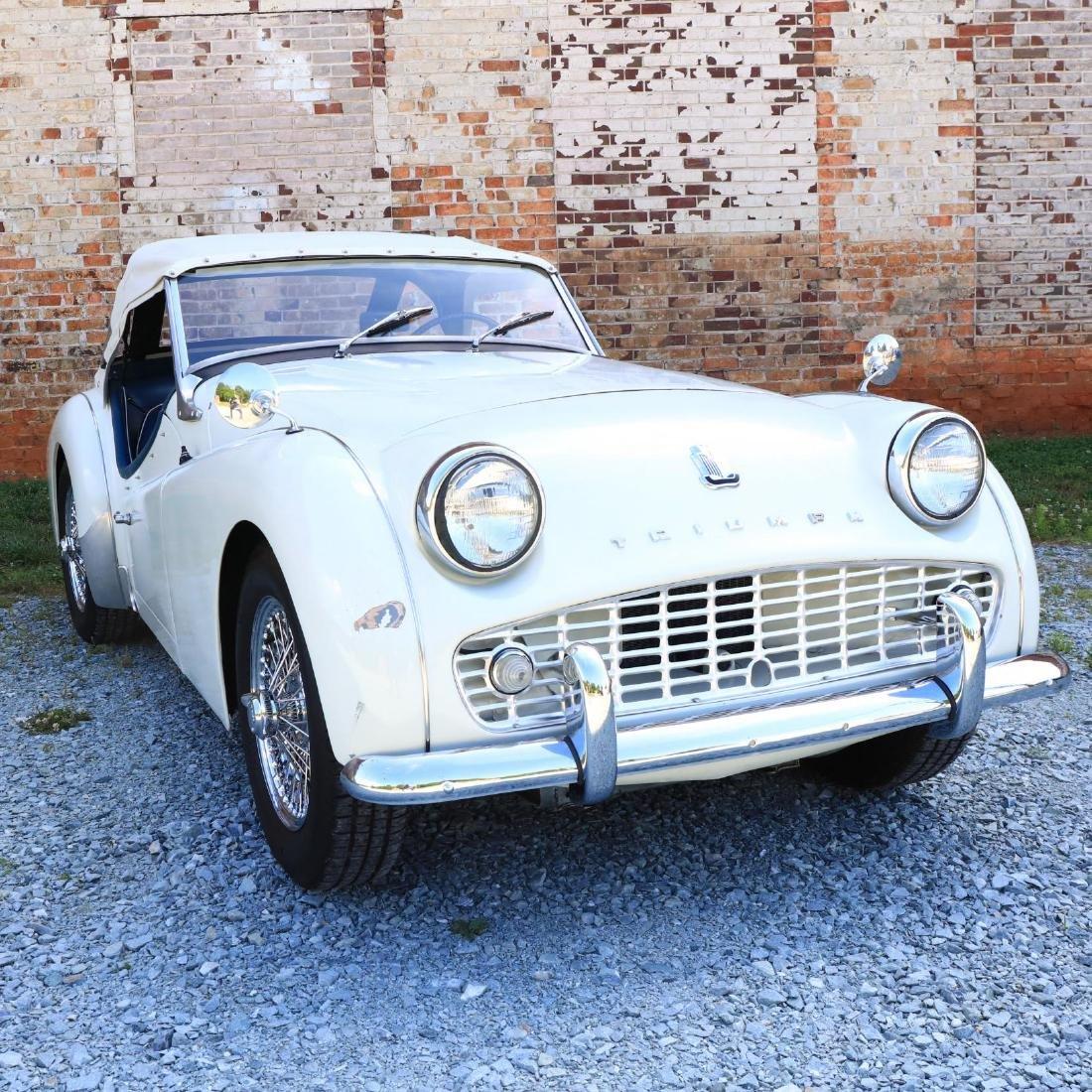 1960 Triumph TR3A - 5