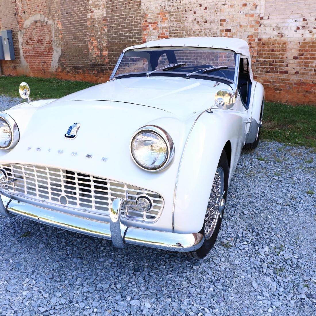 1960 Triumph TR3A - 6