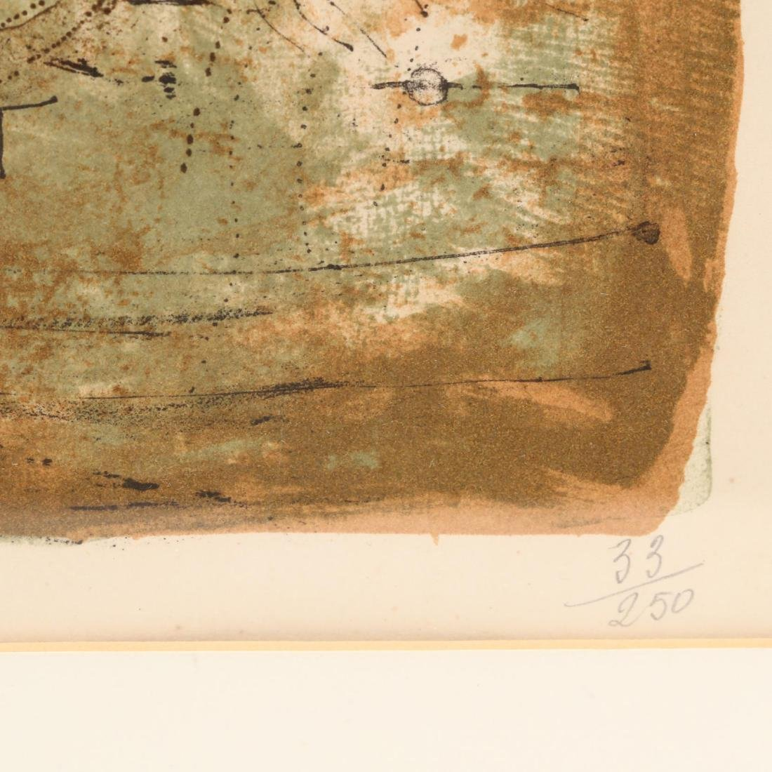 Zao Wou-Ki (French/Chinese, 1920–2013),  Les Cerfs - 3