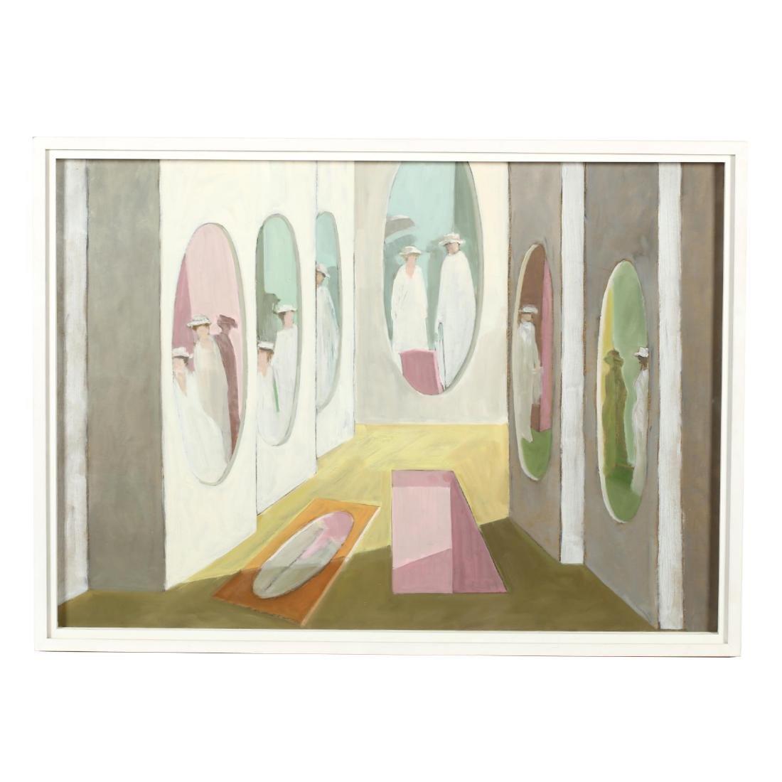 Hobson Pittman (NC/PA, 1899-1972),  Ladies, Mirrors