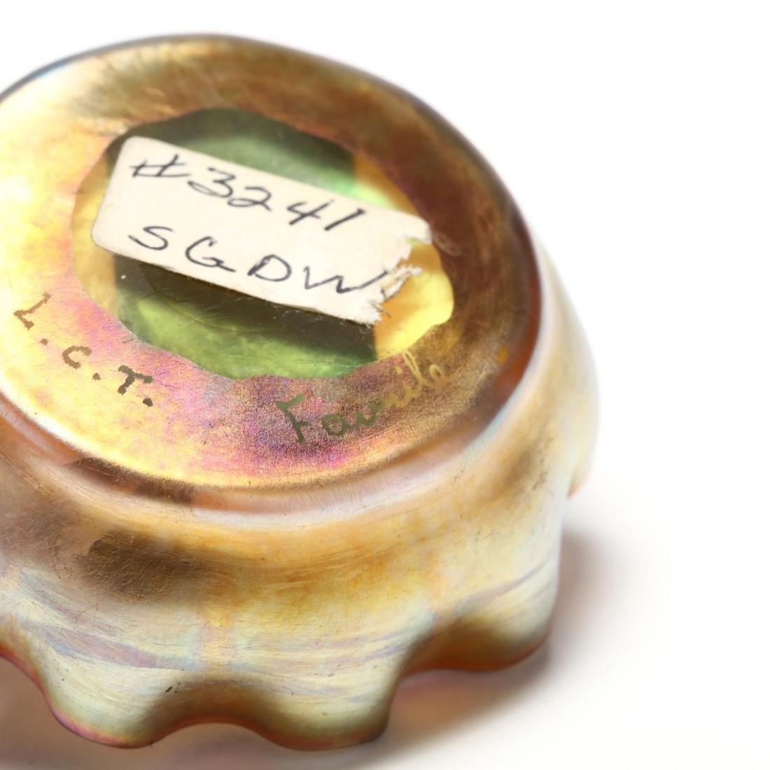 L.C. Tiffany, Seven Pieces of Favrile Art Glass - 7