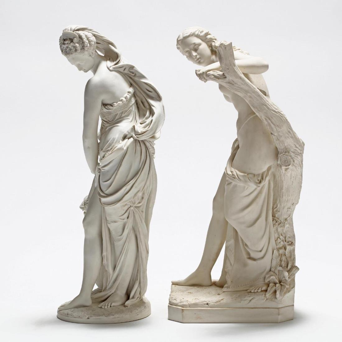 Two Parian Ware Figures - 10