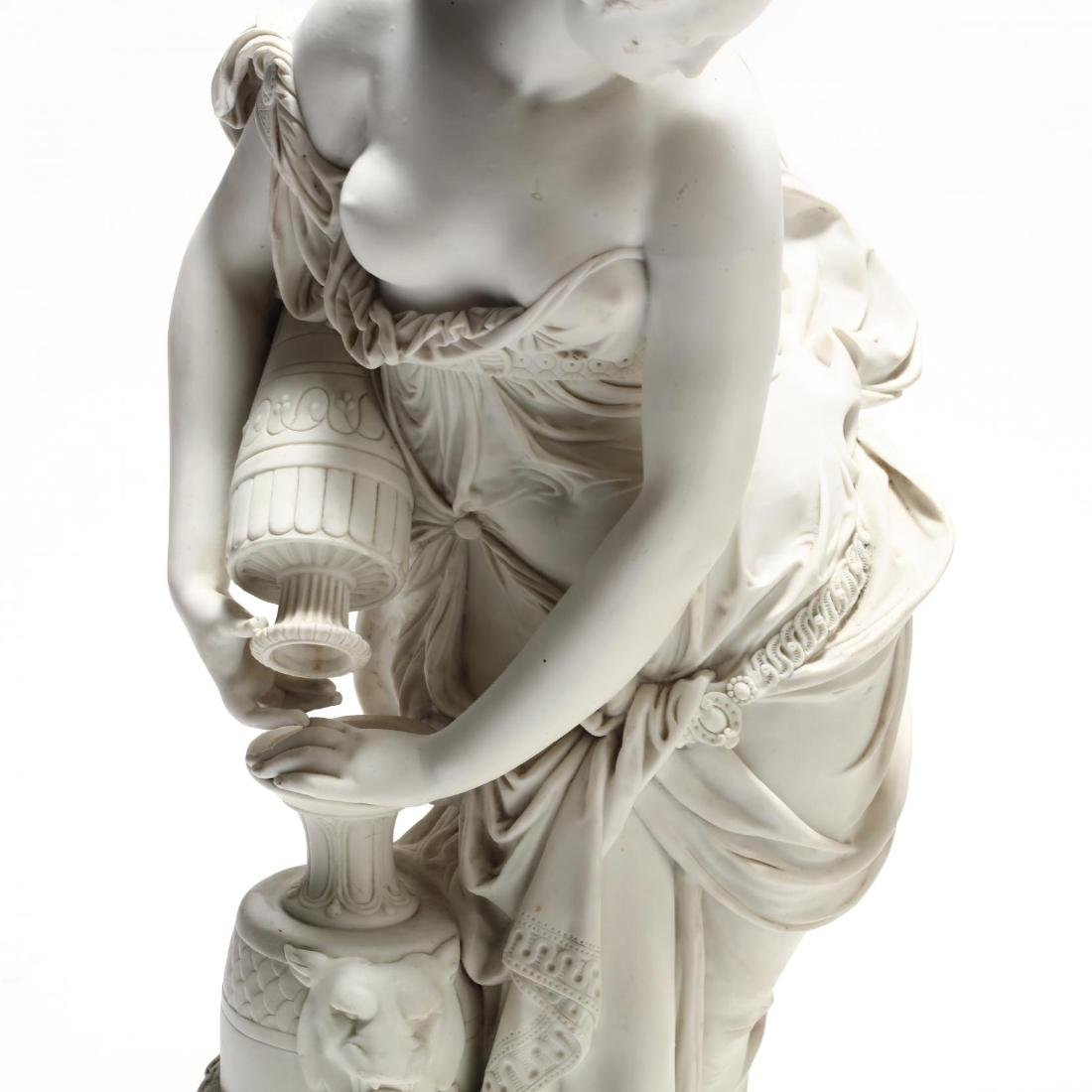 Two Parian Ware Figures - 2