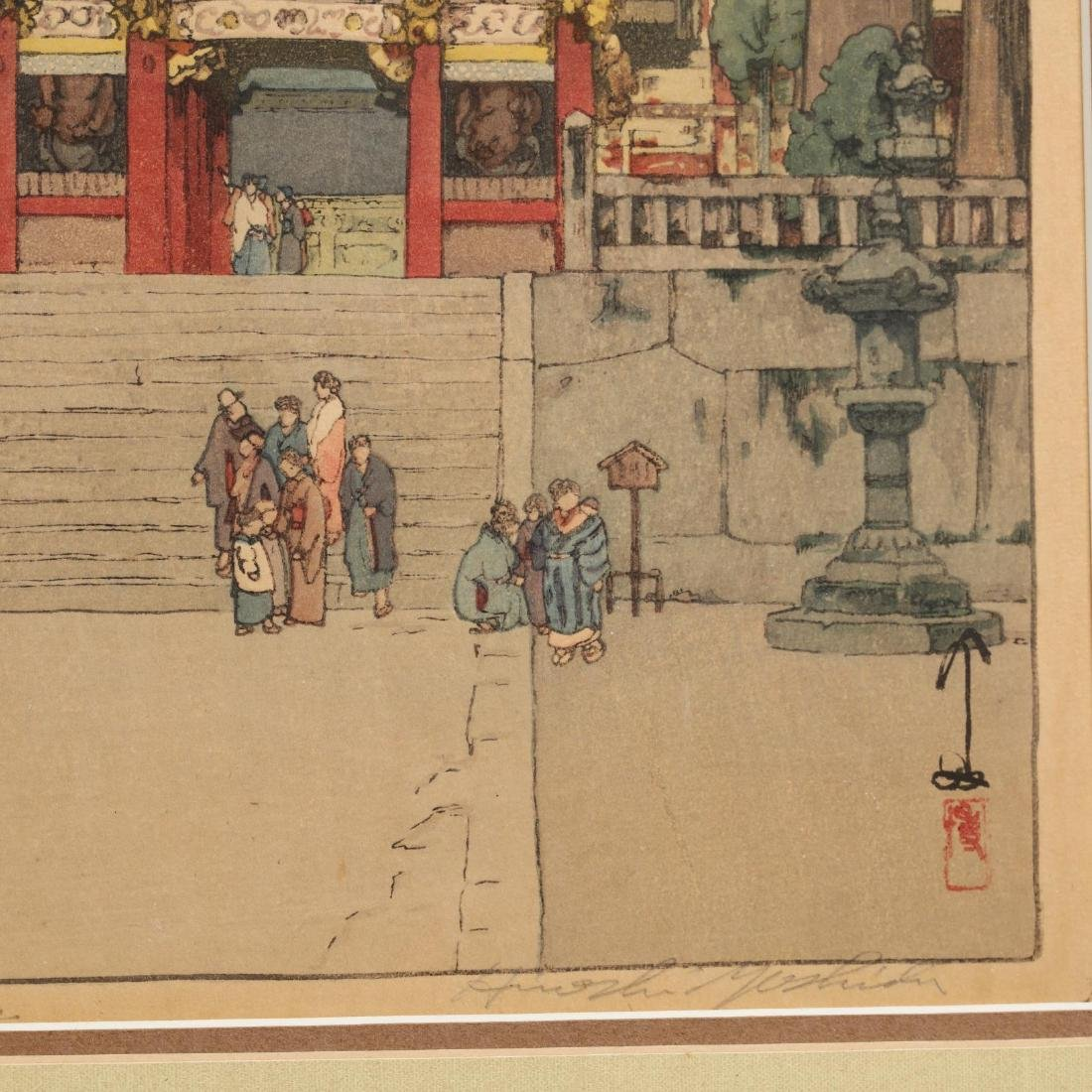 Three Japanese Woodblock Prints by Hiroshi Yoshida - 10