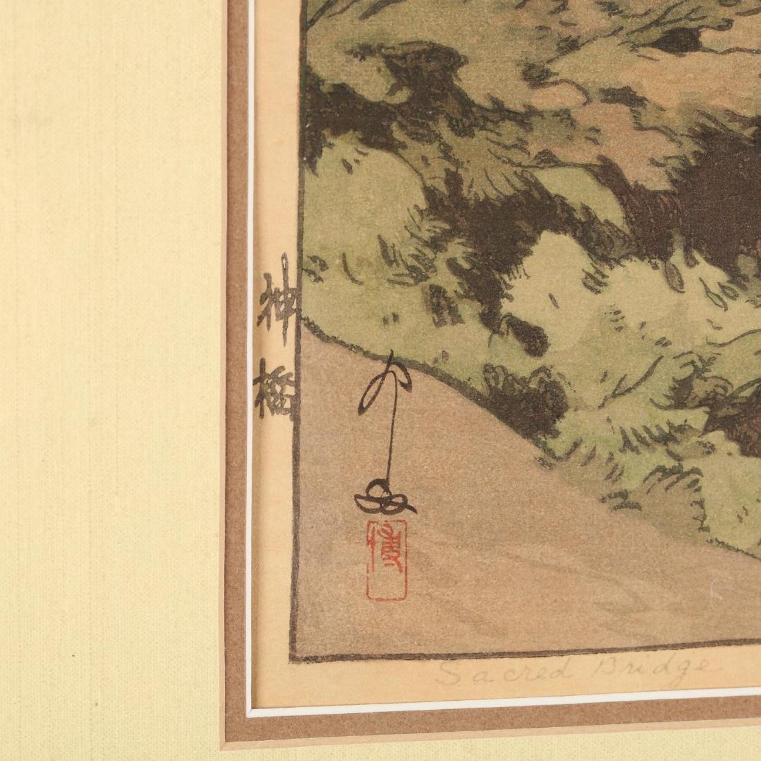 Three Japanese Woodblock Prints by Hiroshi Yoshida - 3