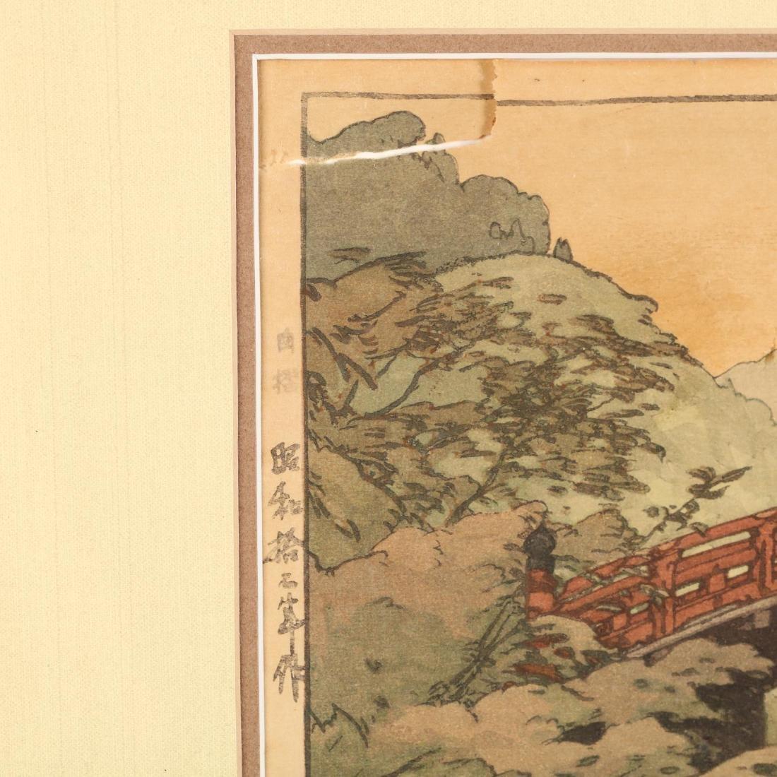 Three Japanese Woodblock Prints by Hiroshi Yoshida - 4