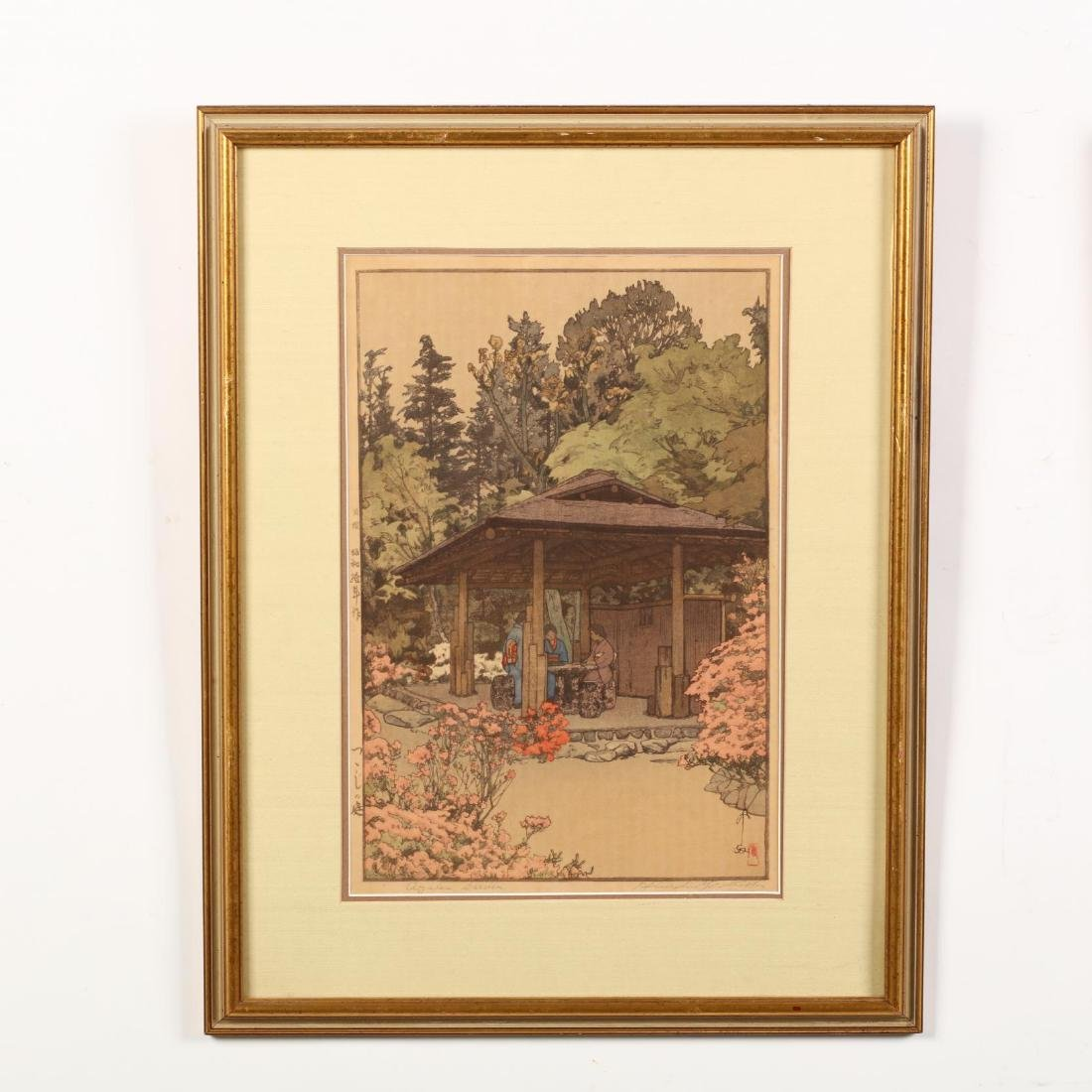 Three Japanese Woodblock Prints by Hiroshi Yoshida - 5