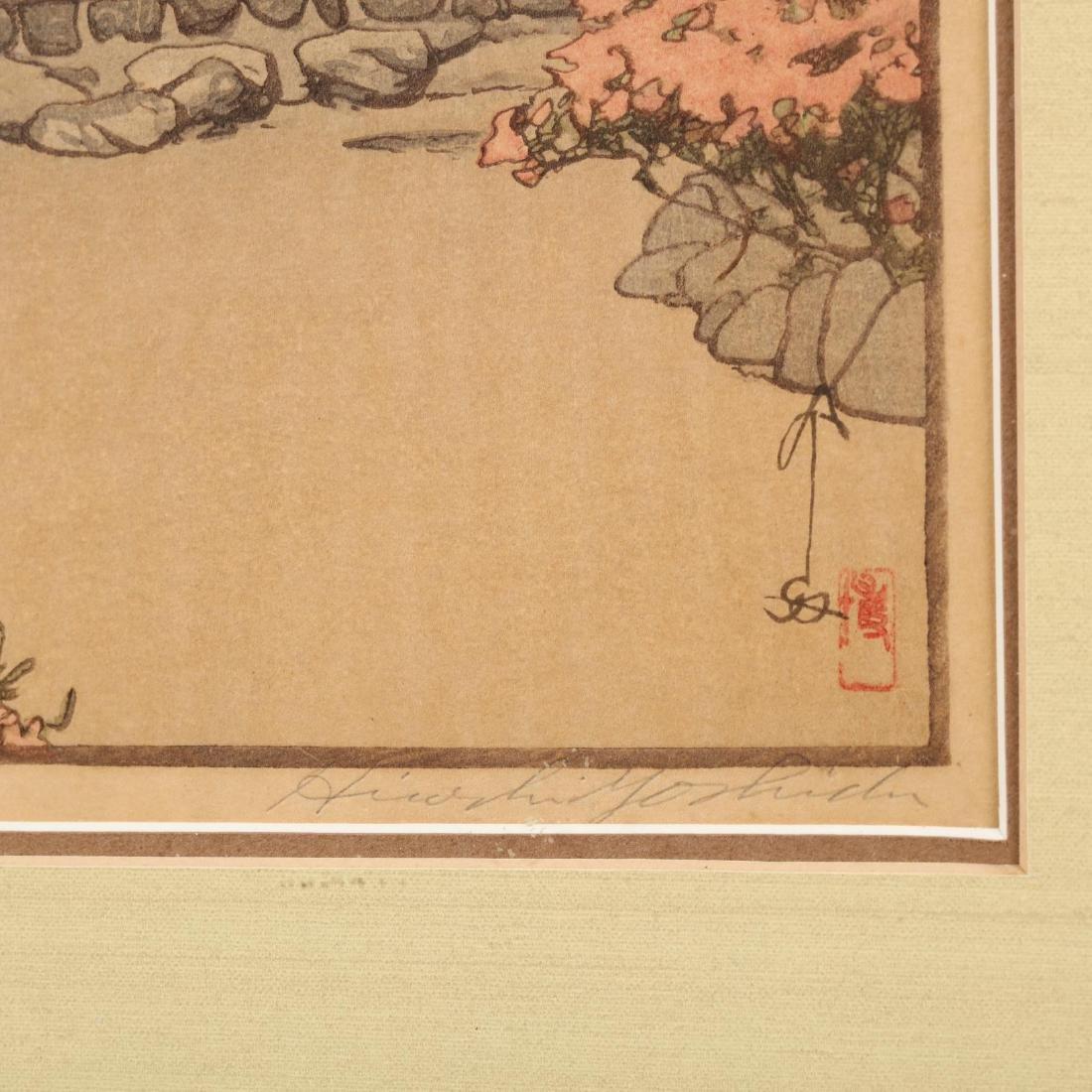 Three Japanese Woodblock Prints by Hiroshi Yoshida - 6
