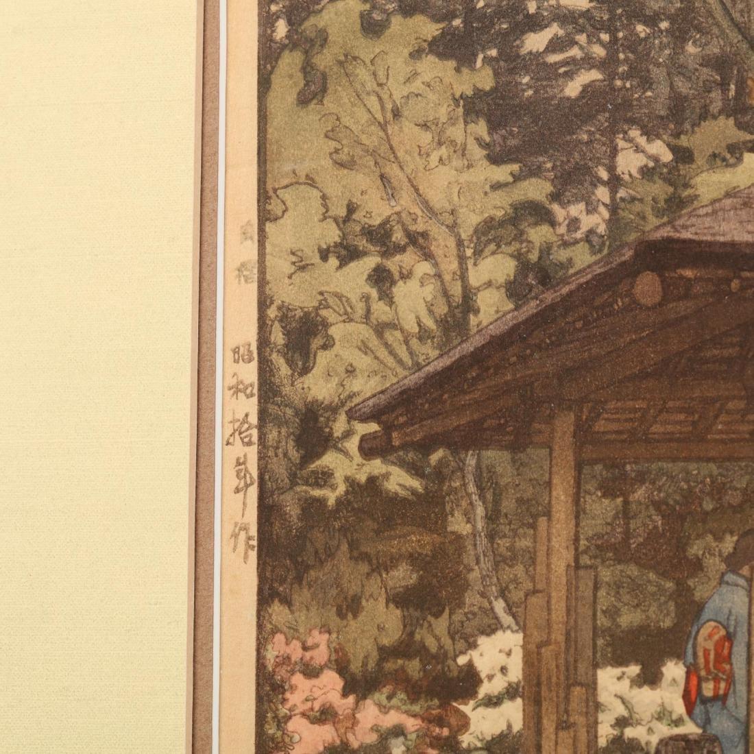 Three Japanese Woodblock Prints by Hiroshi Yoshida - 8