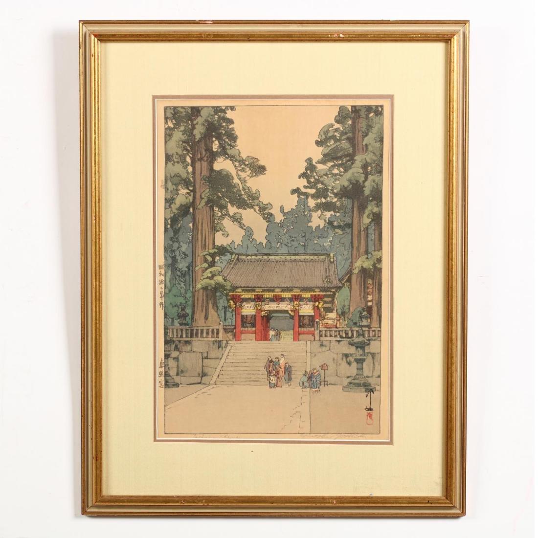 Three Japanese Woodblock Prints by Hiroshi Yoshida - 9