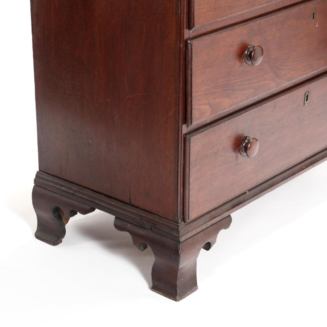 Southern Chippendale Walnut Chest of Drawers - 3